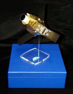Maquette satellite PLEIADES © Espace Maquette