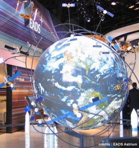 Espace-maquette-satellite-telecommunication