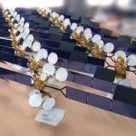 Maquette satellite AMAZONAS 2 © Espace Maquette