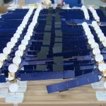 Maquette satellite ARABSAT 4 © Espace Maquette