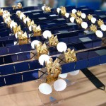 Maquette satellite ASTRA 1M © Espace Maquette