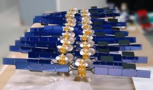 Maquette satellite ASTRA 3B © Espace Maquette