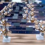 Maquette satellite YAHSAT 1A © Espace Maquette