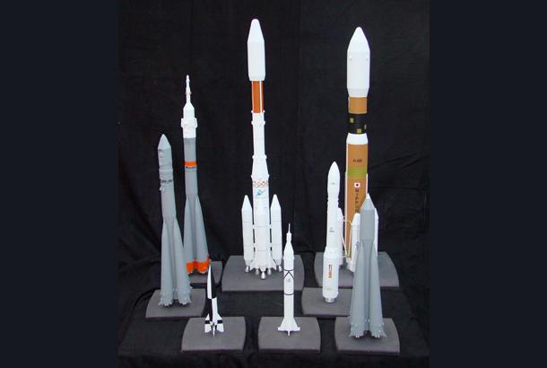 Maquettes fusées