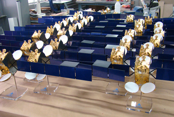 Maquette satellite ASTRA
