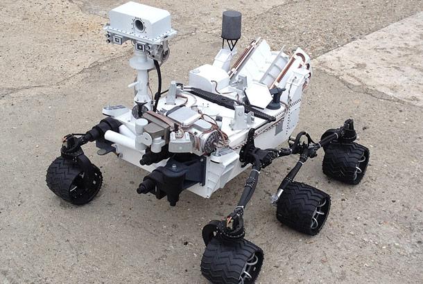 Maquette Rover Curiosity MSL 101