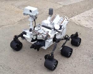 Maquette Curiosity-MSL-101© Espace Maquette